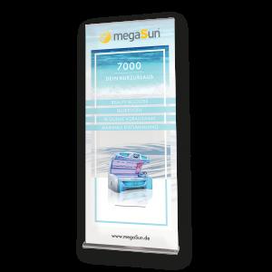 Roll-Up Banner megaSun 7000