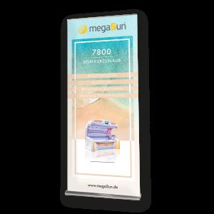 Roll-Up Banner megaSun 7800