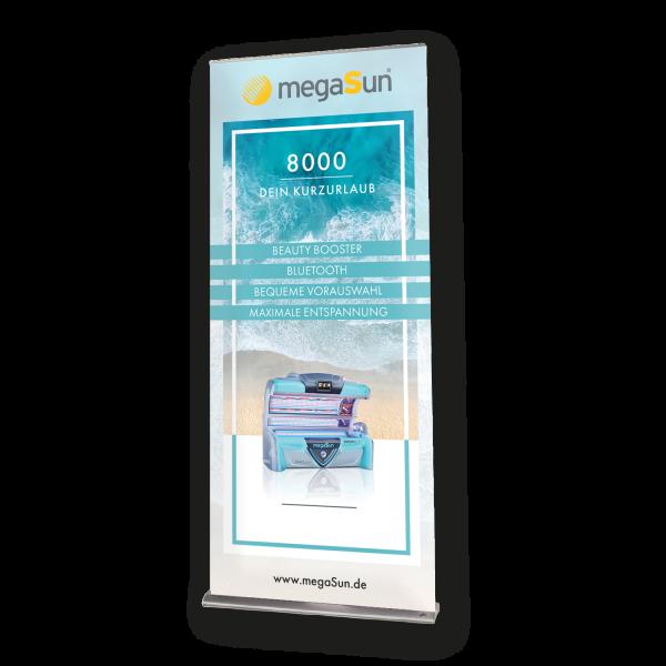 Roll-Up Banner megaSun 8000