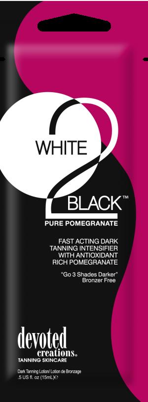 DC White 2 Black Pure Pomegranade