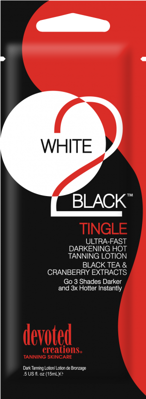 DC White 2 Black Tingle